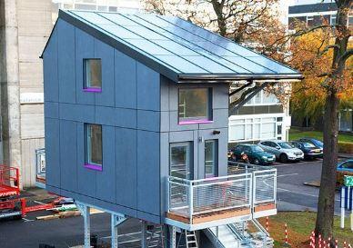 خانه های معلق که در کشور انگلستان ساخته می شوند!+تصاویر