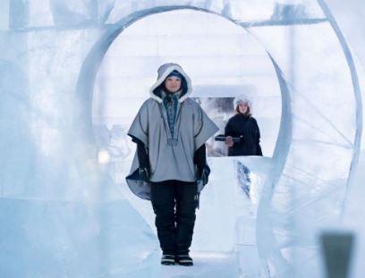 بزرگترین هتل یخی جهان را در کشور سوئد ببینید!+تصاویر