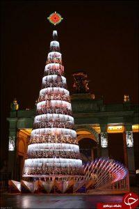 جشن کریسمس در مسکو