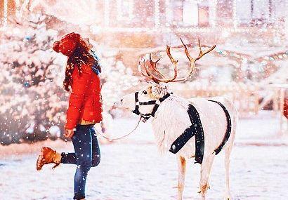 پایتخت روسیه و سفر توریست ها به آن برای داشتن زمستان زیبا+تصاویر