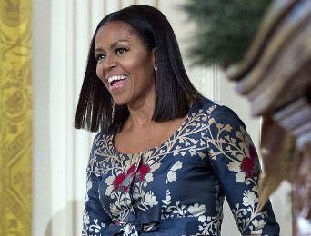 آخرین کریسمس بانوی اول آمریکا در کاخ سفید را ببینید!+تصاویر