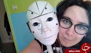 ازدواج زن فرانسوی با یک ربات
