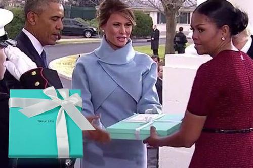 هدیه ملانی ترامپ
