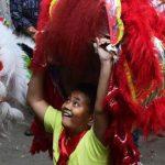 عکسهایی دیدنی از جشن آغاز سال جدید در چین!+تصاویر