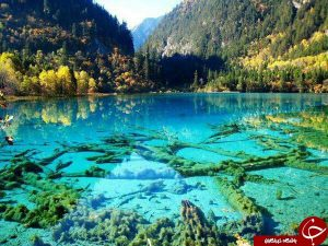 دریاچه ای بلوری