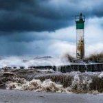 عکسهای یک فانوس دریایی توسط یک عکاس خلاق!+تصاویر