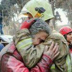 پیام همدردی آتش نشانهای خارجی در مورد حادثه پلاسکو!+تصاویر