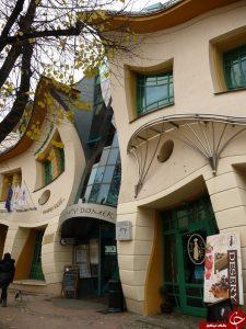 خانه ای با معماری کج