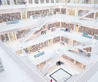 معماریهای خارقالعاده در برخی کتابخانه های مطرح جهان(۱)!+تصاویر