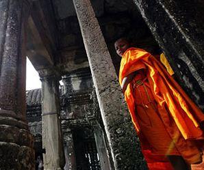 انگکور وات بزرگترین بنای مذهبی در جهان!+تصاویر
