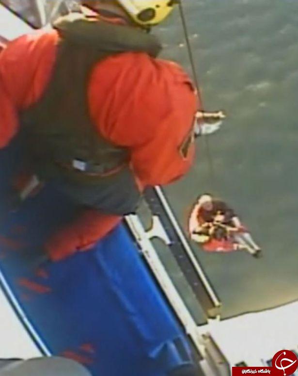 نجات ماهیگیر شصت ساله بلژیکی بطور معجزه آسایی از مرگ!+تصاویر