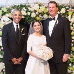 باراک اوباما در مراسم عروسی یکی از کارمندان کاخ سفید!+تصاویر