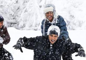 بهترین روز باراک اوباما رییس جمهور سابق آمریکا+تصاویر