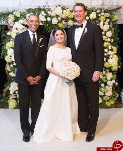 باراک اوباما در مراسم عروسی