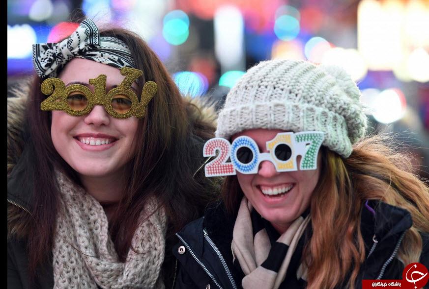 جشن سال نو میلادی در کشورهای مختلف در سراسر جهان را ببینید!+تصاویر