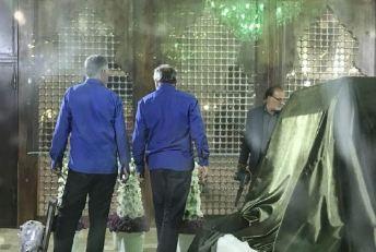 نمایی از داخل ضریح امام راحل را ببینید!+عکس