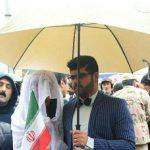 راهپیمایی 22 بهمن از حضور عروس و داماد تا ماکت دونالد ترامپ!+تصاویر