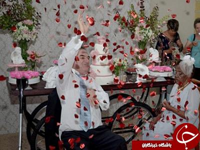 ازدواج کهن سال ترین عروس جهان
