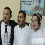 عروس مصری و اصرار برای برگزاری مراسم عروسی در اداره پلیس!+تصاویر