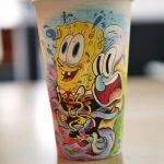 لیوان های یکبار مصرف قهوه و طرح هایی دیدنی و جالب برروی آنها+تصاویر