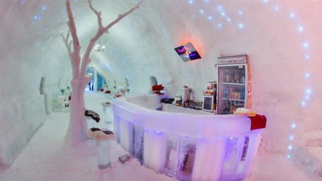 هتل یخی سوئد اولین و بزرگترین هتل ساختهشده از یخ و برف در جهان!+تصاویر