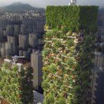 جنگل عمودی که برای اولین بار در قاره آسیا در حال ساخته شدن است!+تصاویر