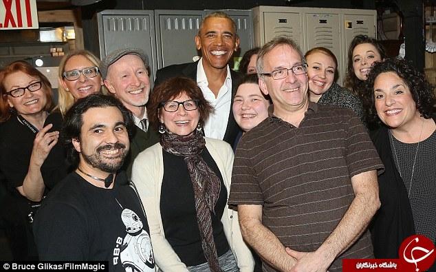 باراک اوباما رییس جمهور سابق