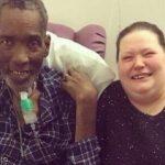 آرزوی مرد سرطانی توسط پرستاران بیمارستان برآورده شد!+تصاویر