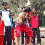 رکورد شکنی جوان 32 ساله اهل پاکستان با اعضای بدن خود!!+تصاویر