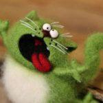 عروسک های نمدی که ساختن آنها پنج سال زمان برده است!+تصاویر