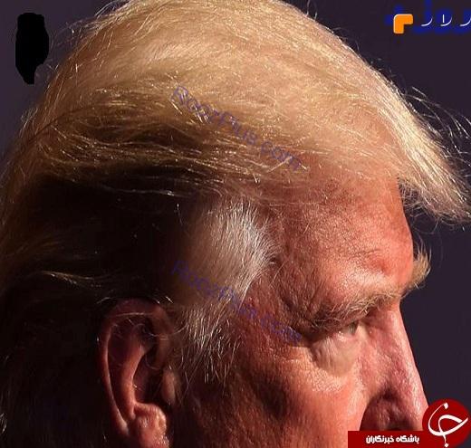 دونالد ترامپ و راز موهای عجیبش