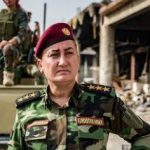 خاتون خیدر خواننده زن که به صف مبارزه با داعش پیوست!+تصاویر