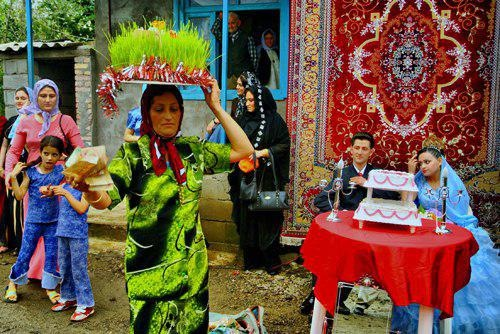 عروسی های سنتی ایران