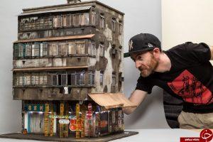 آپارتمان مینیاتوری ساخته شده توسط هنرمند استرالیایی+تصاویر