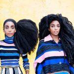 موهای عجیب این دو خواهر را ببینید!+تصاویر