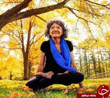 پیرترین معلم یوگا