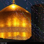 جشن مبعث پیامبر اسلام در حرم مطهر امام رضا (ع)+تصاویر