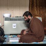 مراسم اعتکاف در دانشگاه امیرکبیر!+تصاویر