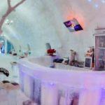 تصاویر حیرت انگیز از یک هتل یخی!