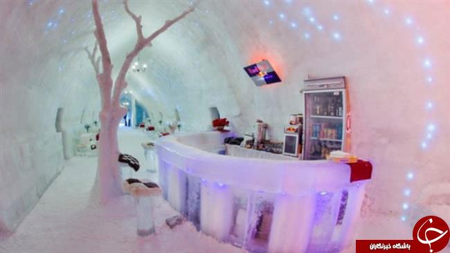 هتل یخی در سوئد