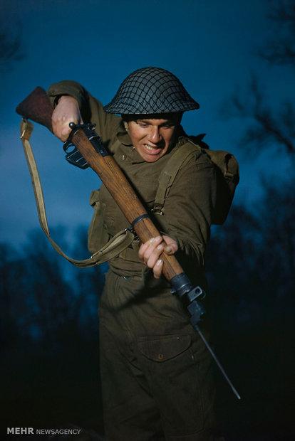 جنگ جهانی دوم و تصاویری رنگی از این واقعه!