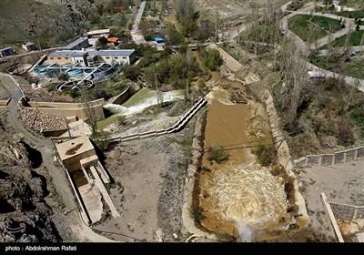 سد اکباتان در همدان