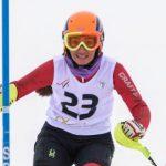 مسابقات اسکی بانوان در پیست اسکی دیزین!+تصاویر