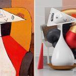 نقاشی های پابلو پیکاسو را بصورت سه بعدی ببینید!