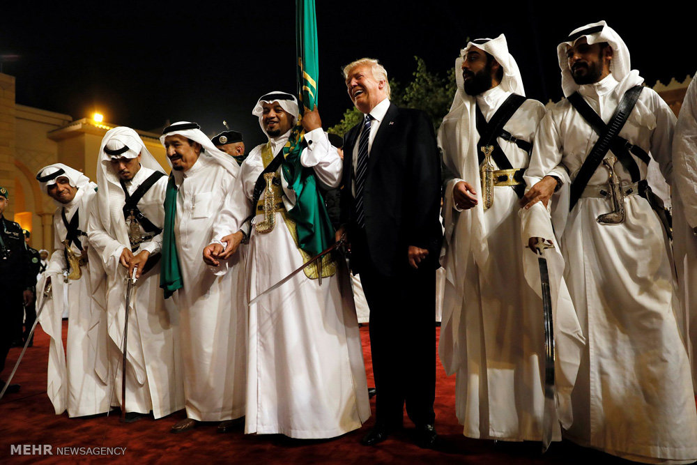 سفر دونالد ترامپ به عربستان