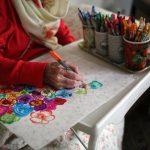 نمایشگاه نقاشی های فوق العاده بانوی 86 ساله ایرانی!