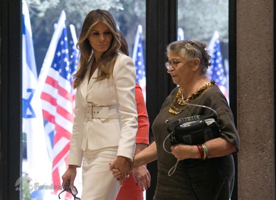 اولین سفر خارجی ملانیا ترامپ