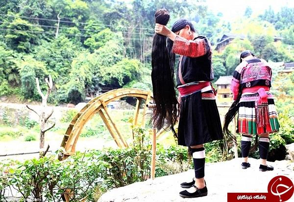 موهای بلند زنان چینی