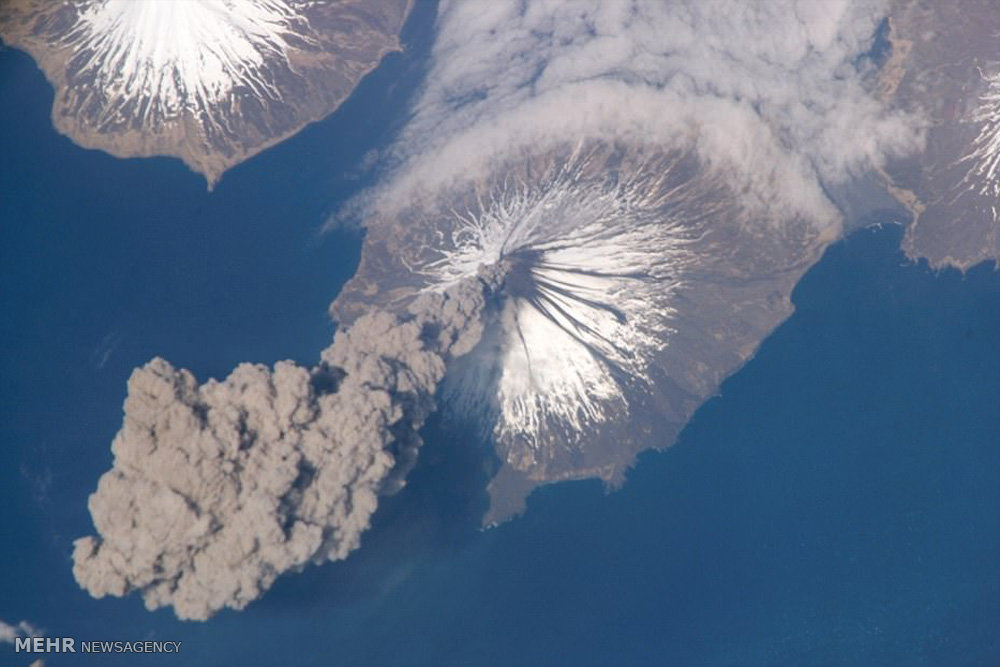 آتشفشان های در حال فوران