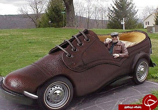 عجیب ترین اتومبیل ها